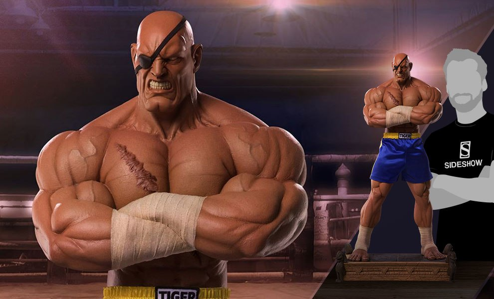 Gallery Feature Image of Sagat Emperor of Muay Thai Statue - Click to open image gallery