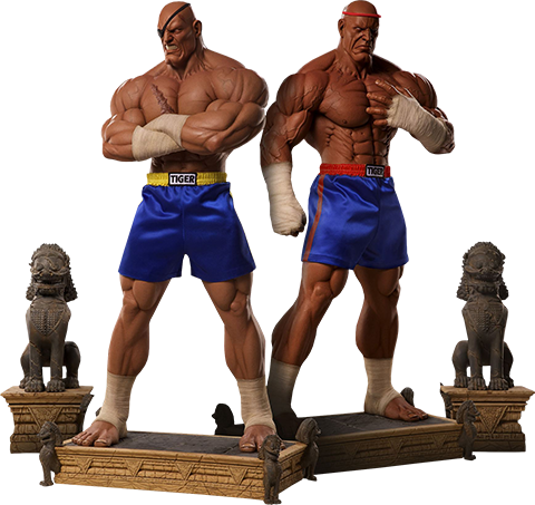 PCS Collectibles Sagat Evolution Collectible Set