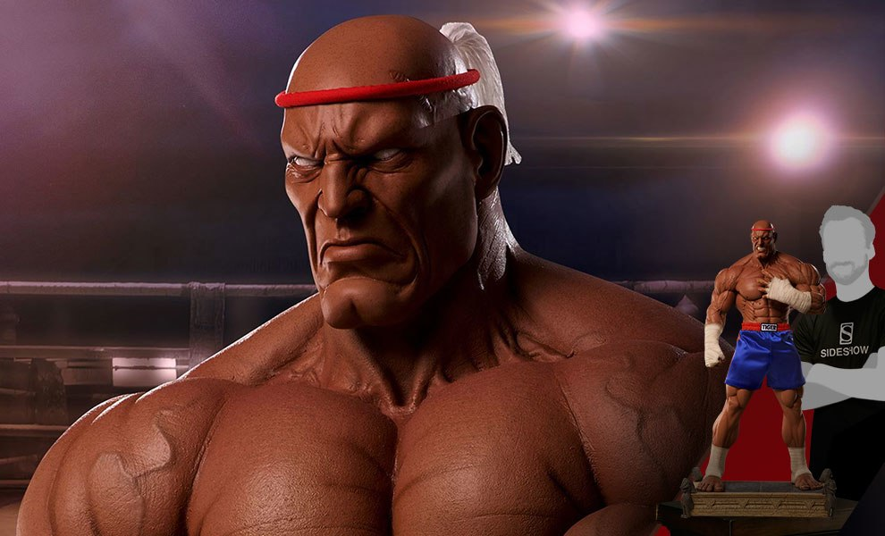 Gallery Feature Image of Sagat Victory Statue - Click to open image gallery
