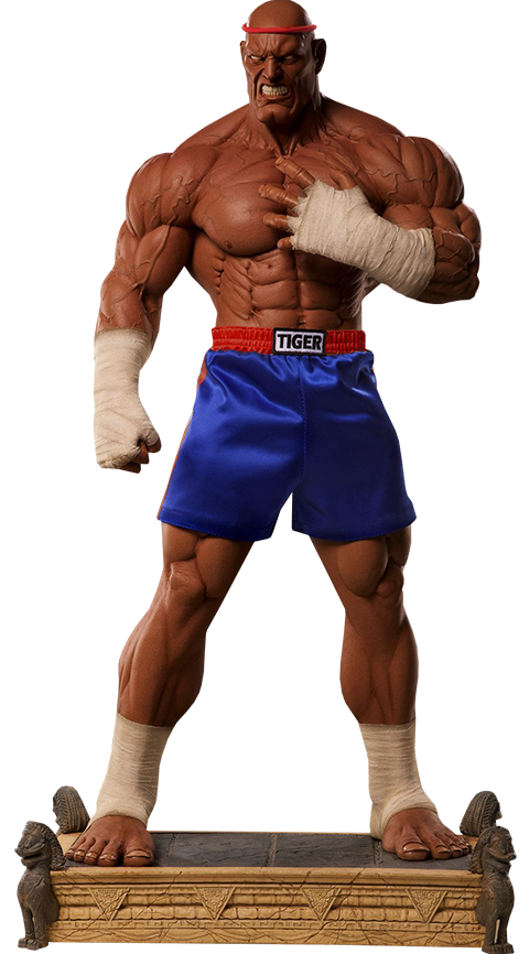 PCS Collectibles Sagat Victory Statue