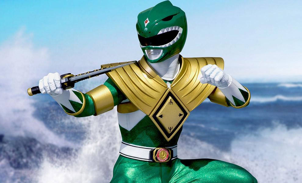 Gallery Feature Image of Green Ranger Dragonzord Statue - Click to open image gallery