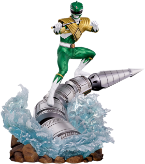 Green Ranger Dragonzord Statue