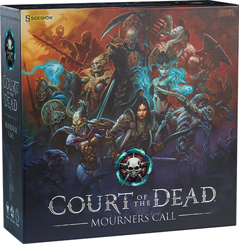 Project Raygun - USAOPOLY Court of the Dead Mourner's Call Game Board Game