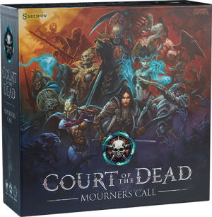 Court of the Dead Mourner's Call Game Board Game