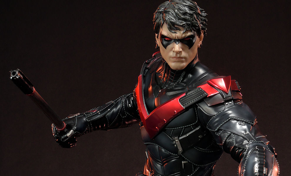 Gallery Feature Image of Nightwing Red Version Statue - Click to open image gallery
