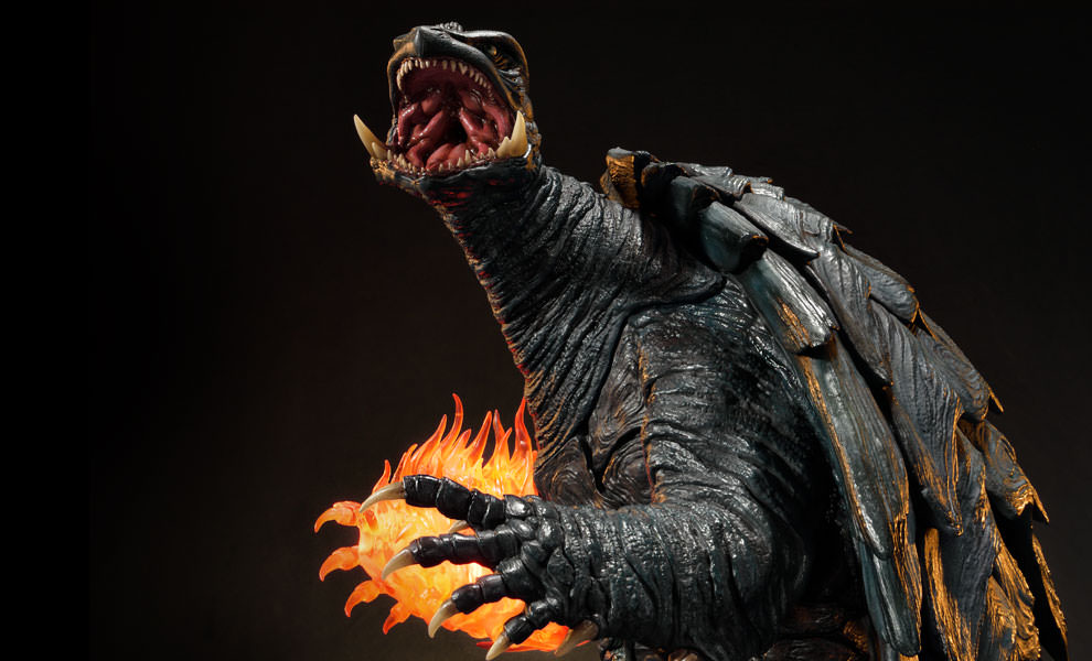 Gallery Feature Image of Gamera Deluxe Version Statue - Click to open image gallery