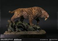 Gallery Image of Smilodon Fatalis Wet Rainforest Version Statue
