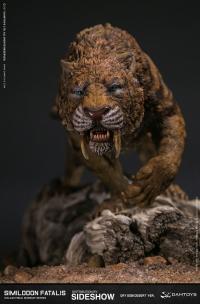 Gallery Image of Smilodon Fatalis Dry Gobi Desert Version Statue