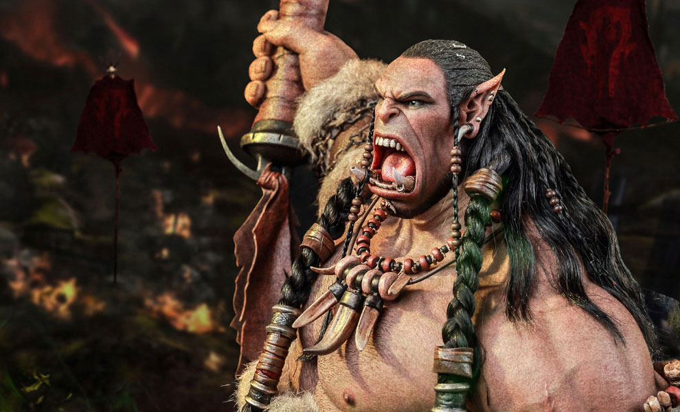 Gallery Feature Image of Durotan Version 2 Statue - Click to open image gallery