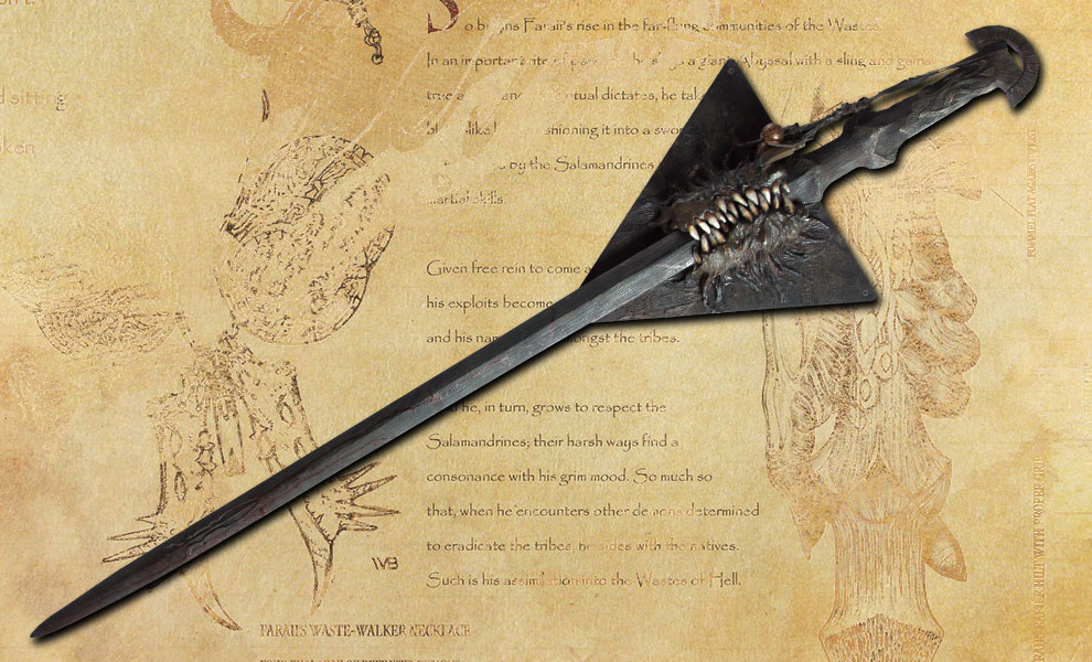 Gallery Feature Image of Baron Faraiis Dark Sword Prop Replica - Click to open image gallery
