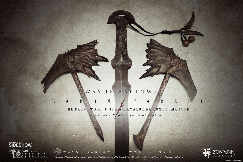 Wayne Barlowe Baron Faraiis Dark Sword Prop Replica by Zenpu