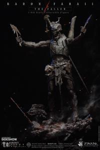 Gallery Image of Baron Faraiis Salamandrine Bone Tomahawk Prop Replica