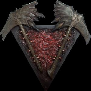 Baron Faraiis Salamandrine Bone Tomahawk Prop Replica