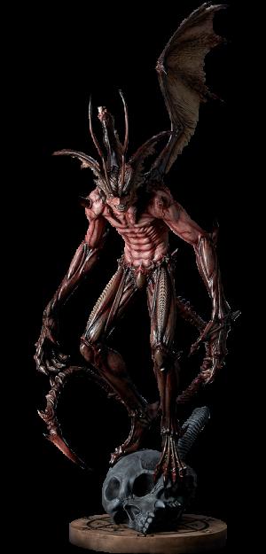Amon - Crimson Devil Statue