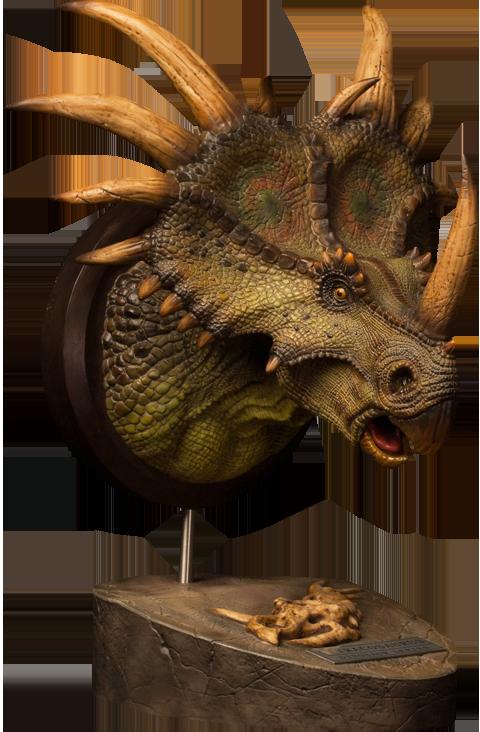 Damtoys Styracosaurus Bust