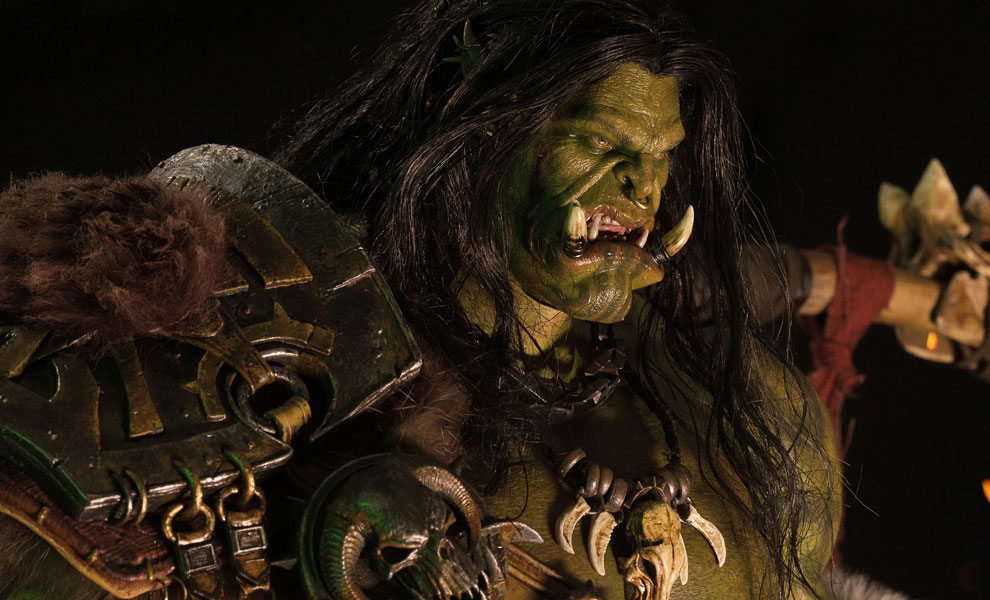 Gallery Feature Image of Grom Hellscream Statue - Click to open image gallery