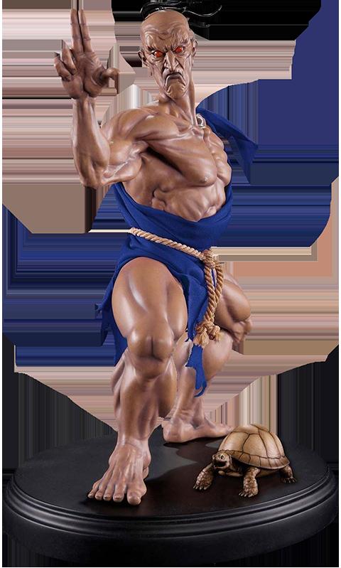PCS Oro Player 2 Version Statue