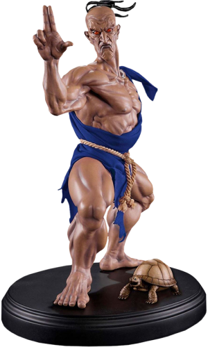 Oro Player 2 Version Statue