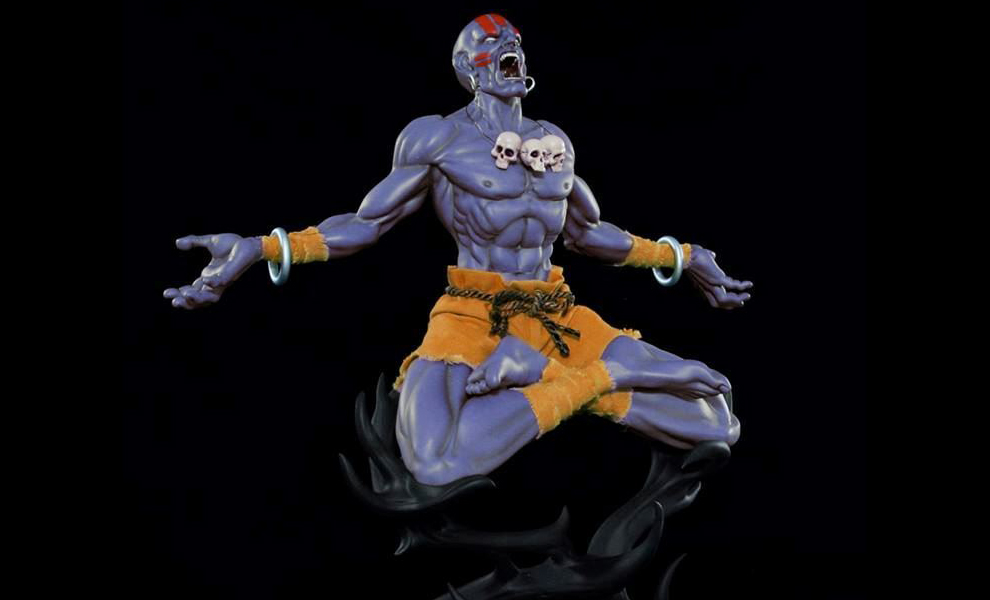 Gallery Feature Image of Dhalsim Player 2 Version Statue - Click to open image gallery