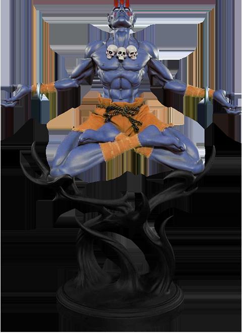 PCS Collectibles Dhalsim Player 2 Version Statue
