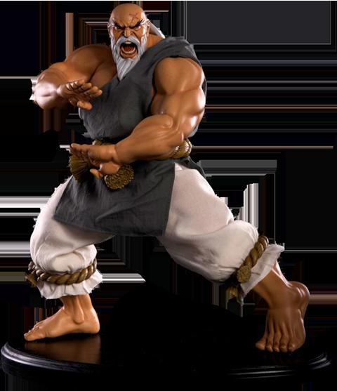 PCS Collectibles Gouken Strong Fist Statue