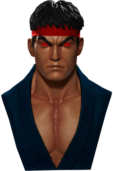 Pop Culture Shock Evil Ryu Life-Size Bust
