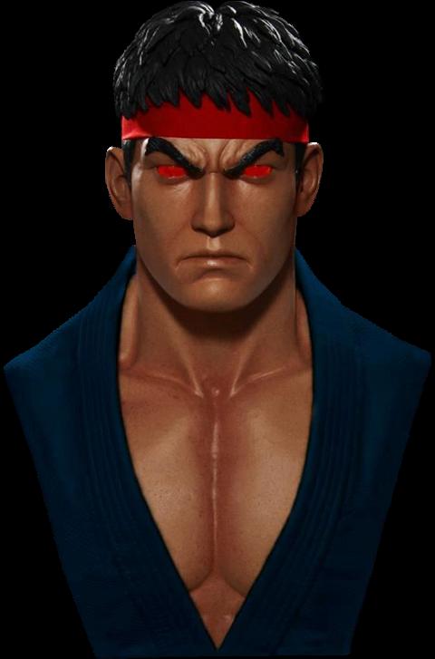 PCS Evil Ryu Life-Size Bust