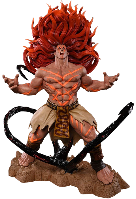 PCS Collectibles Necalli V-Trigger Torrent of Power Statue