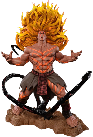 Necalli V-Trigger Player 2 Yellow Statue