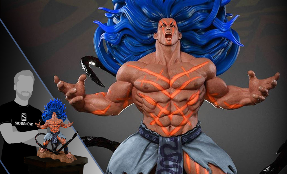 Gallery Feature Image of Necalli V-Trigger Player 2 Blue Statue - Click to open image gallery