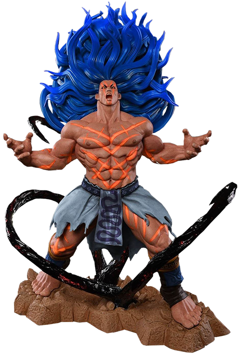 PCS Collectibles Necalli V-Trigger Player 2 Blue Statue
