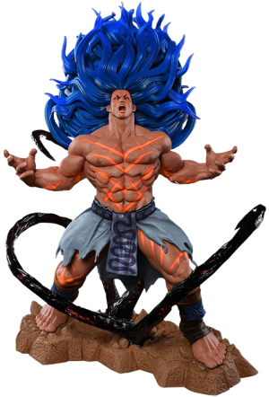 Necalli V-Trigger Player 2 Blue Statue