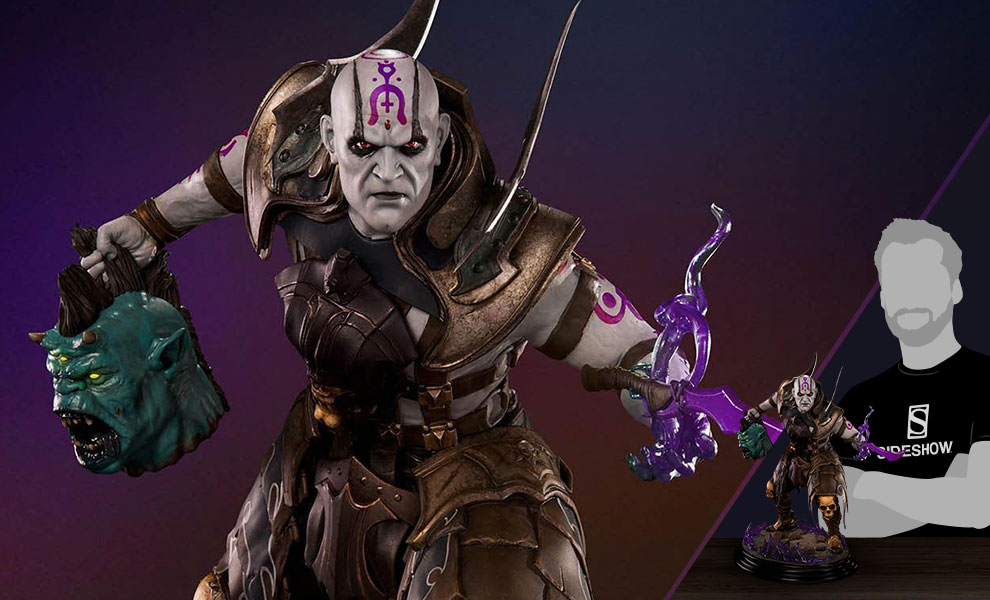 Gallery Feature Image of Quan Chi Sorcerer Statue - Click to open image gallery