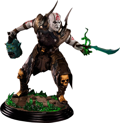 Pop Culture Shock Quan Chi Dark Curse Statue