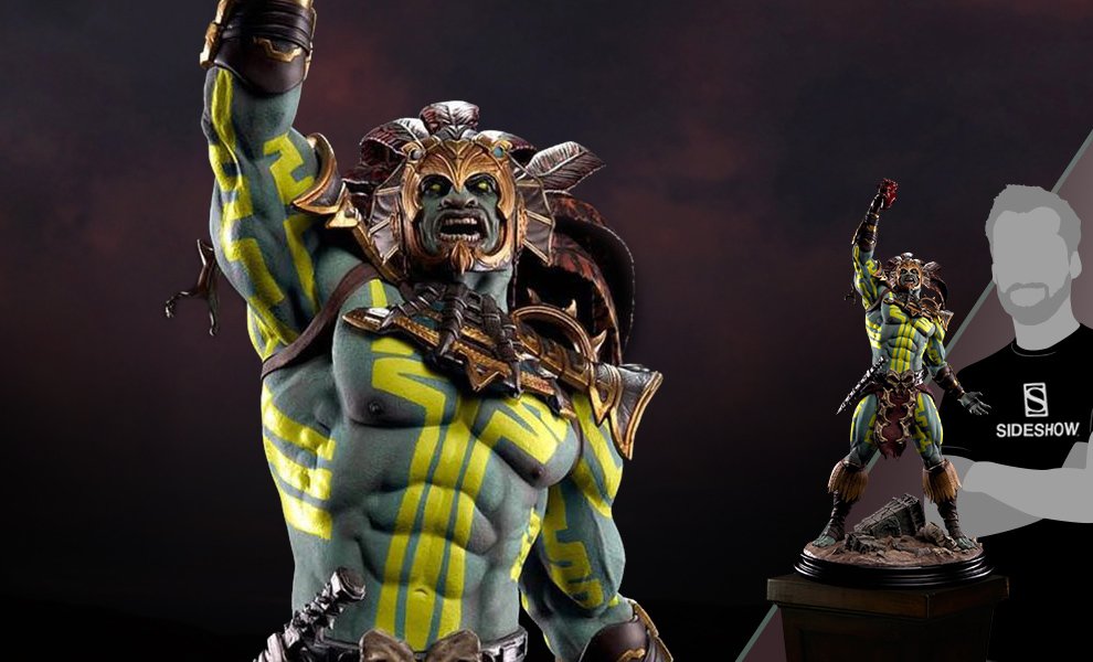 Gallery Feature Image of Kotal Kahn - Sun God Statue - Click to open image gallery