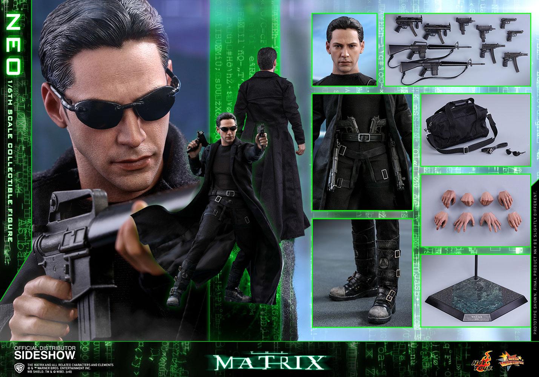 3943a08e4f The Matrix Neo Sixth Scale Figure by Hot Toys