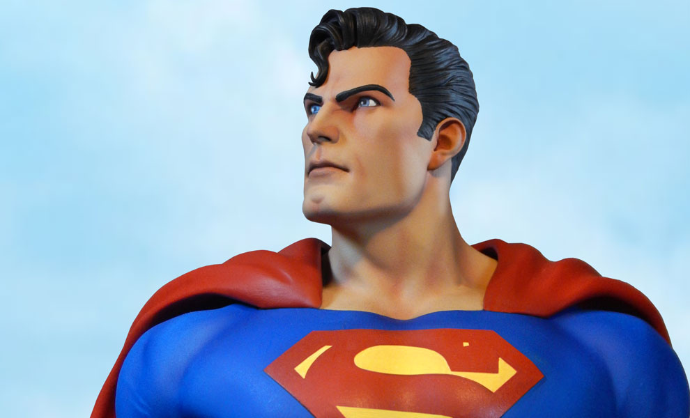 Gallery Feature Image of Super Powers Superman Maquette - Click to open image gallery