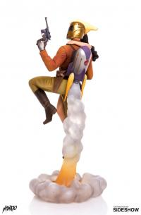 Gallery Image of Rocketeer and Betty Statue