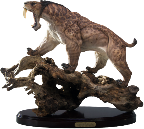 Zenpunk Collectibles Smilodon Populator - Tree Root Statue