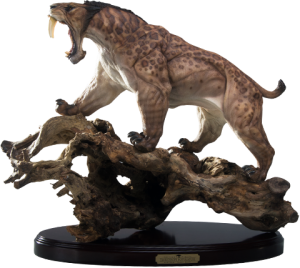 Smilodon Populator - Tree Root Statue