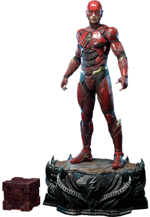 The Flash Statue