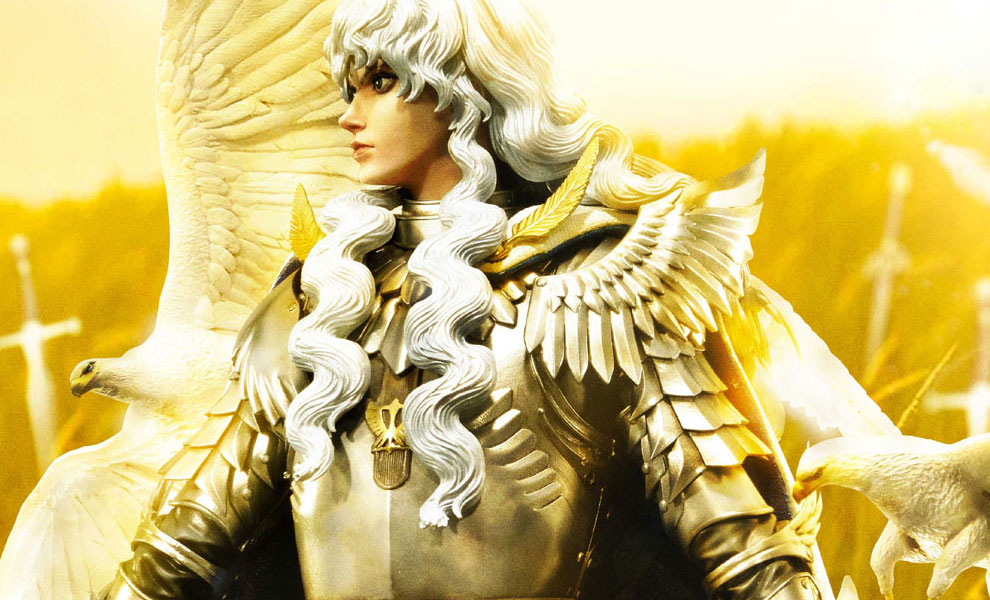 Gallery Feature Image of Griffith The Falcon of Light Statue - Click to open image gallery