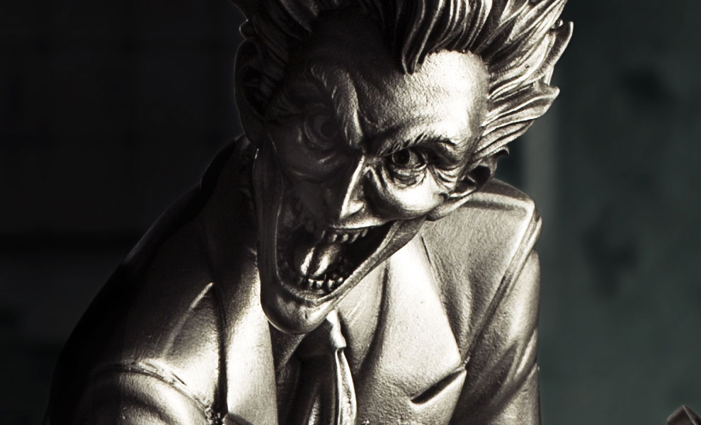 Gallery Feature Image of The Joker Figurine Pewter Collectible - Click to open image gallery
