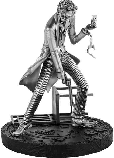 Royal Selangor The Joker Figurine Pewter Collectible
