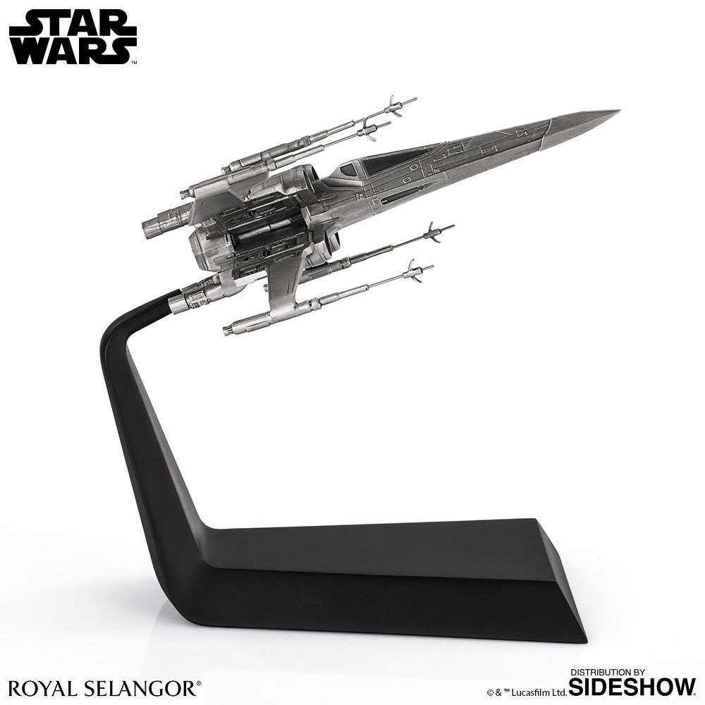 Star Wars X-Wing Starfighter Pewter Collectible by Royal Sel