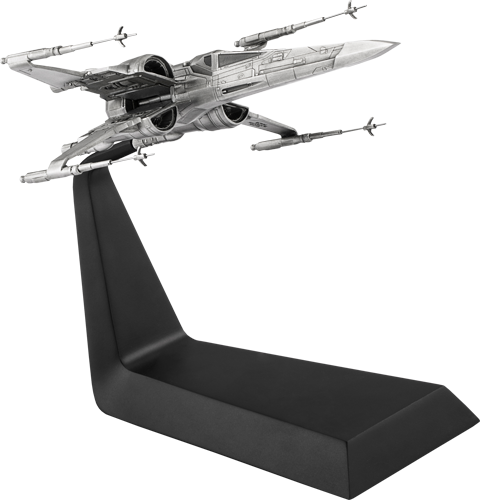 Royal Selangor X-Wing Starfighter Pewter Collectible