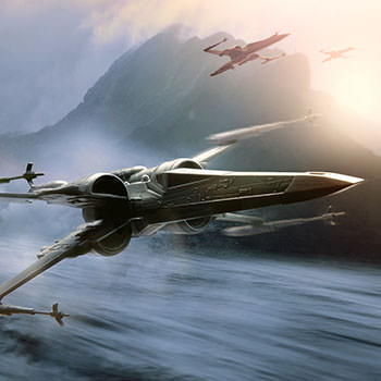 X-Wing Starfighter Star Wars Pewter Collectible