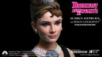 Gallery Image of Audrey Hepburn as Holly Golightly Sixth Scale Figure