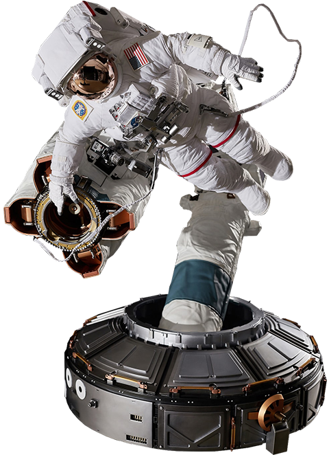 Blitzway Astronaut ISS EMU ver Quarter Scale Figure