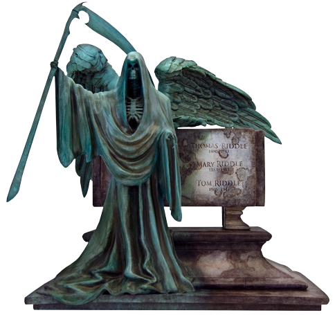 Factory Entertainment Harry Potter Riddle Family Grave Monolith Statue